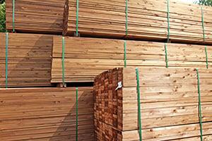 ACQ Treated Wood