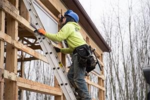 Climbing Ladder, Pole Barn Kits, FBi Buildings