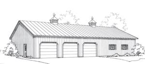 Coachmaster, Pole Barn Garage, FBi Buildings