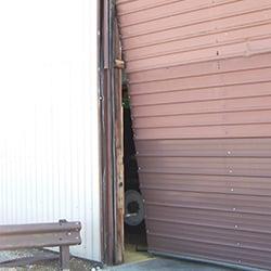 Damaged Door