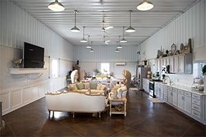Entertainment Space, FBi Buildings, Pole Barn Renovation