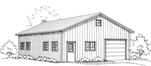 Grandpas Workshop, Pole Barn Garages, FBi Buildings
