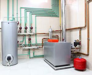 heat pump, boiler room, fbi buildings