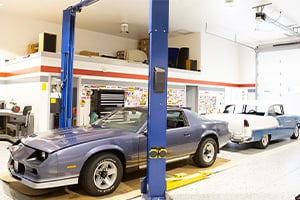 Hobby Shop with Cars