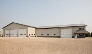 fbi buildings, pole barn addition
