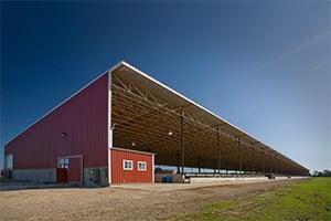 Monoslope_Pole_Barn_Roof