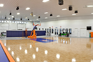 Peters Basketball Court