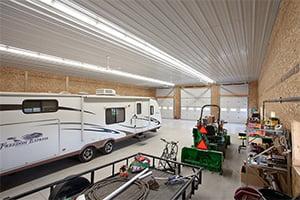 Pole Barn Storage Garage