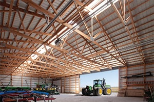 Pole_Barn_Warranty_Columns_Roof_Structure