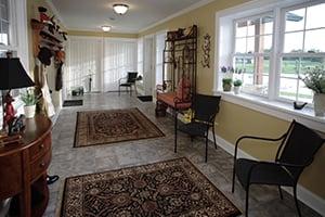 Post Frame Home Interior