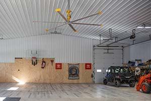 Pole Barn Garage Ceiling Fan