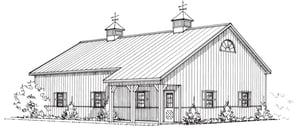 Suburbanites Envy, Pole Barn Garage, FBi Buildings