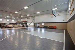 Swanberg Basketball Court