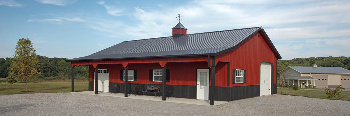Can You Build a Pole Barn on Existing Concrete?