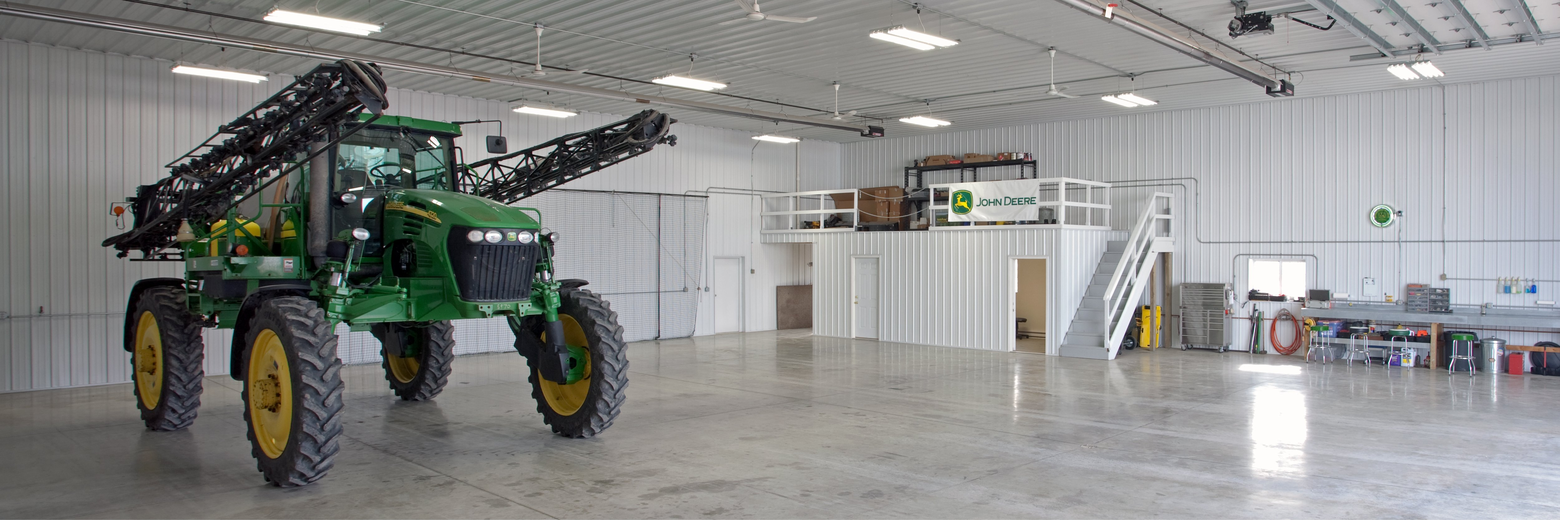 What Are My Options for Pole Barn Flooring?