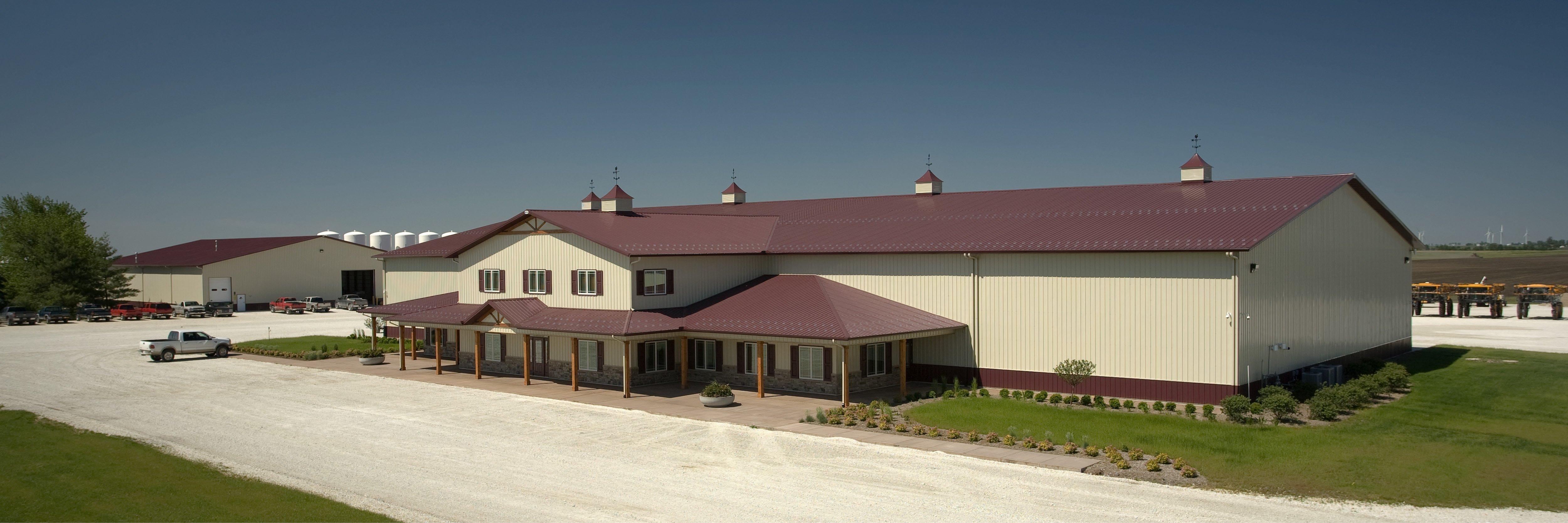 Our Top 5: Farm Shop and Machine Storage Pole Barns