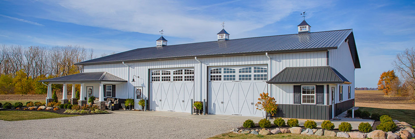 3 Energy-Efficient Landscaping Tips for Your Pole Barn